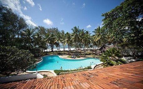 Keňa, Diani Beach, letecky na 11 dní all inclusive