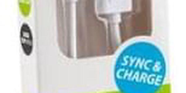Kabel GoGEN USB/micro USB, 2m bílý (MICUSB 200 MM11)2