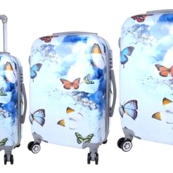 Sada 3 skořepinových kufrů (Jaro)