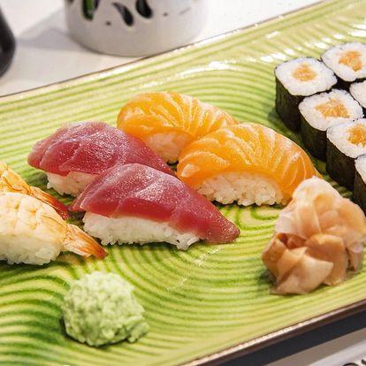 8, 16, 22 i 24 sushi rolek s rybami i vege