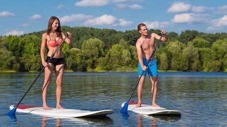 Zapůjčení paddleboardu pro 1 i 2 os. až na 9 hod.