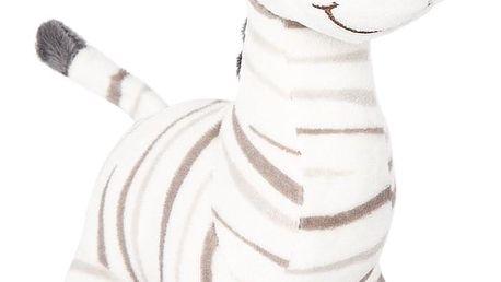 Koopman Plyšová zebra bílá, 22 cm