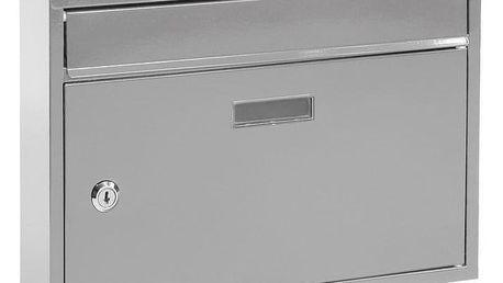 Richter Poštovní ocelová schránka Terni, stříbrná
