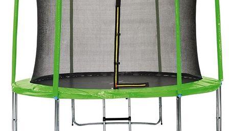 Marimex   Sada krytu pružin a rukávů pro trampolínu 366 cm - zelená   19000782