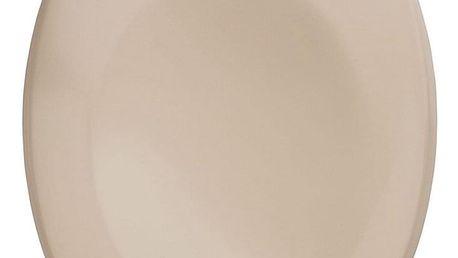 WC prkénko BERGAMON, Duroplast, barva béžová, WENKO
