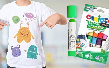 Sada malování na tričko se zažehlovacími barvami