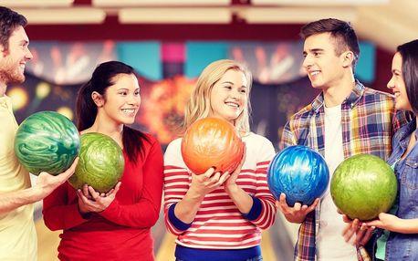 2 hod. bowlingu na profi dráze až pro 8 hráčů