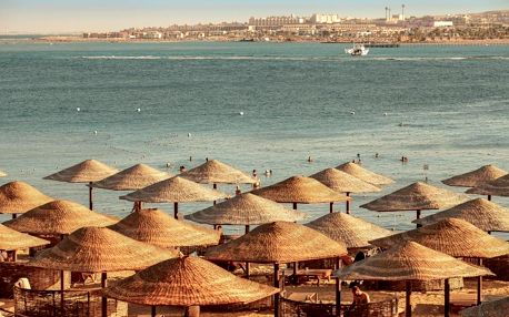 Egypt - Hurghada letecky na 8-9 dnů