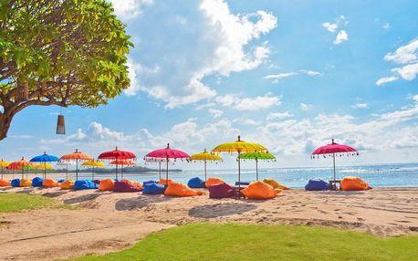 Bali - Nusa Dua Beach na 9 až 13 dní, plná penze nebo snídaně s dopravou letecky z Prahy