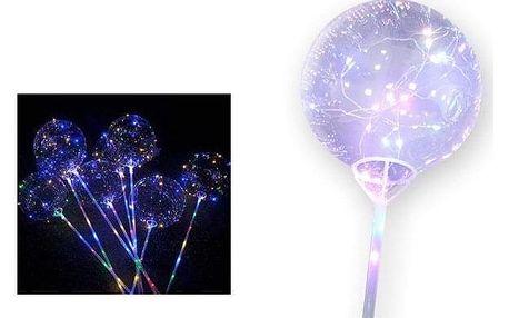 LED svítící balonek 5 ks