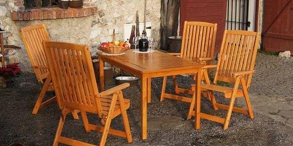Tradgard HOLIDAY 2702 Zahradní stůl - lakovaný FSC2