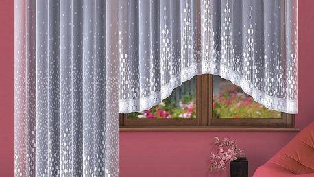 Forbyt Kusová záclona Paula, 380 x 170 cm, 380 x 170 cm