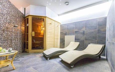 Východní Čechy v Hotelu Tatra *** s polopenzí, privátním wellness a procedurami