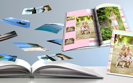 Vytvořte si svou originální fotoknihu ve formátu A4
