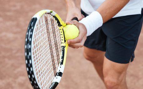 2 hod. pronájmu venkovního tenisového kurtu