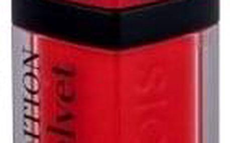 BOURJOIS Paris Rouge Edition Velvet 7,7 ml matná dlouhotrvající rtěnka pro ženy 03 Hot Pepper