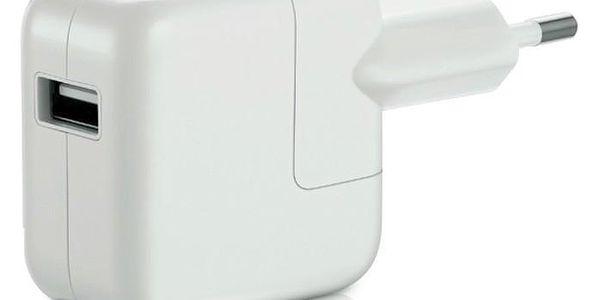 Nabíječka do sítě Apple 12W pro iPhone/iPad bílá (MD836ZM/A)2