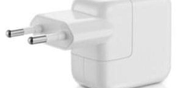 Nabíječka do sítě Apple 12W pro iPhone/iPad bílá (MD836ZM/A)