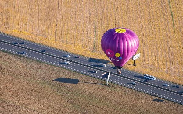 Pilotem balónu na zkoušku, Celá ČR, 1 osoba, 60 minut2