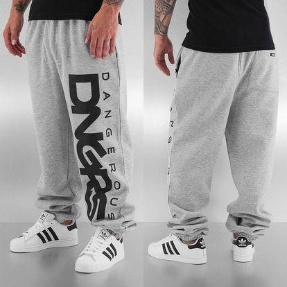 Dangerous DNGRS / Sweat Pant Classic in grey XL