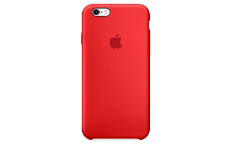 Kryt na mobil Apple Silicone Case pro iPhone 6/6s (PRODUCT)RED™ červený (MKY32ZM/A)
