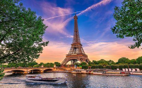Zájezd do Paříže a Versailles s 1 nocí v hotelu