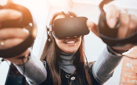 30–90 min. ve virtuální realitě až pro tři hráče