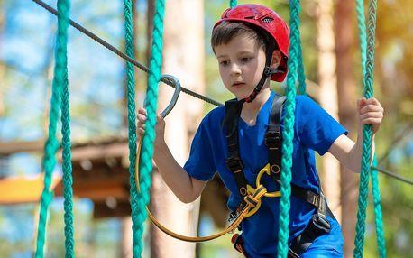 Vstup do Lanového parku Želivka pro děti i dospělé
