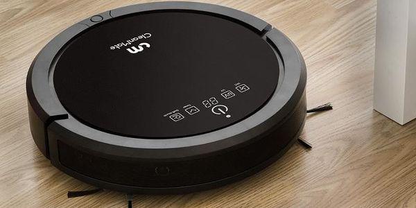 Robotický vysavač CleanMate QQ6Pro černý3