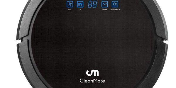 Robotický vysavač CleanMate QQ6Pro černý4