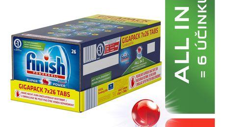 FINISH All-in-1 GIGAPACK 182 ks – tablety do myčky