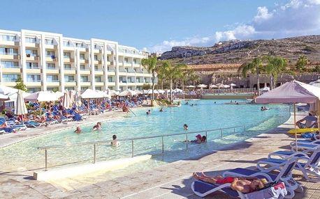 Malta, Mellieha, letecky na 8 dní all inclusive