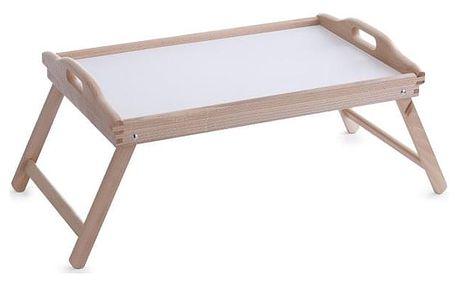 Snídaňový stolek, podnos s nohama, 56x36 cm, ZELLER