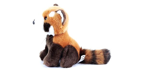 Rappa Plyšová panda červená, 18 cm2