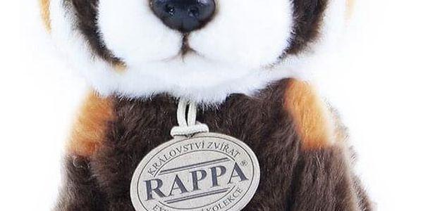Rappa Plyšová panda červená, 18 cm3