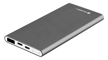 Powerbank GoGEN 5000 mAh, Lightning šedá (PB50001GR)