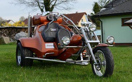 Pronájem motorové tříkolky Streamer