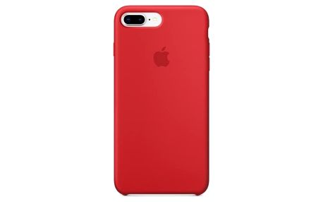 Apple Silicone Case pro iPhone 8 Plus / 7 Plus (PRODUCT)RED červený (MQH12ZM/A)