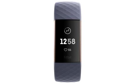 Fitbit Charge 3 - Rose Gold, Blue Grey (FB409RGGY-EU)