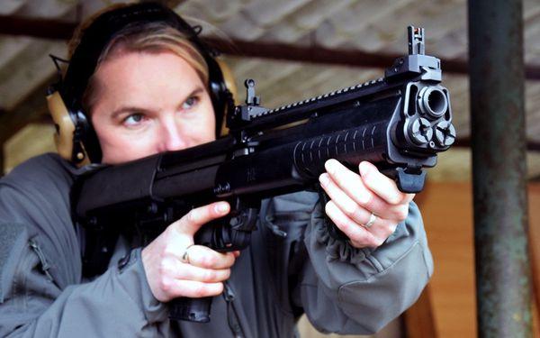 Střelba pro 1 osobu - 5 zbraní, celkem 40 nábojů2