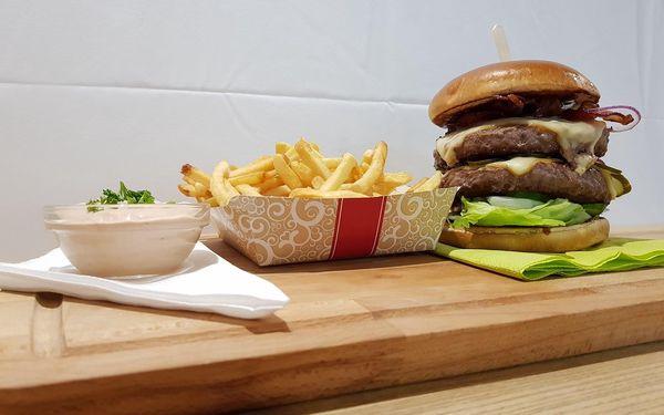 1× Double Burger Špindl4