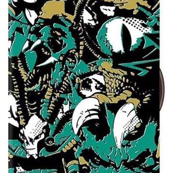 Potah na kufr – květinky | Velikost: S2