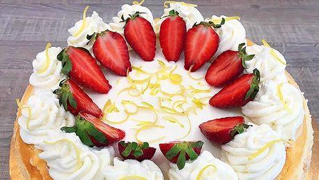Výběr ze 4 dortů: mascarpone, ovocný i čokoládový