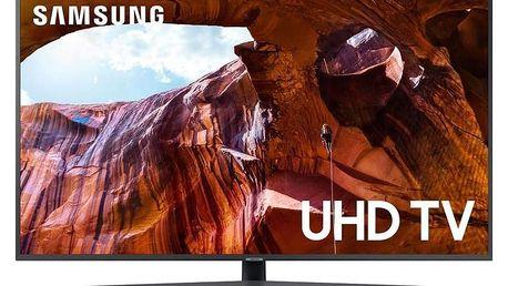 Samsung UE43RU7402 šedá/titanium
