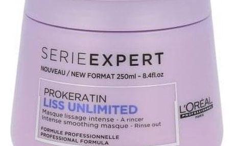 L´Oréal Professionnel Série Expert Liss Unlimited 250 ml maska pro uhlazení nepoddajných vlasů pro ženy