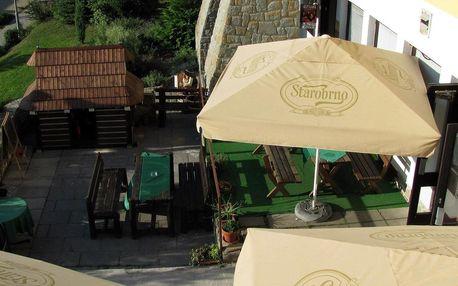 Hotel Ogar v Luhačovicích s polopenzí