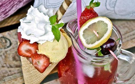 Zmrzlina, ledové cappuccino i domácí limonáda