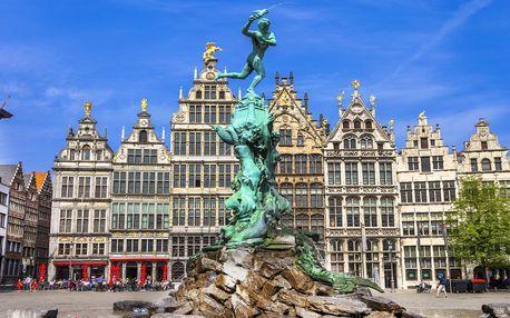 Belgie: 2 noci se snídaní i doprava autobusem