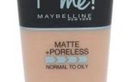 Maybelline Fit Me! Matte + Poreless 30 ml sjednocující makeup s matujícím efektem pro ženy 120 Classic Ivory