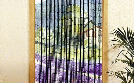 Bambusový závěs Provence, 90x200 cm, WENKO